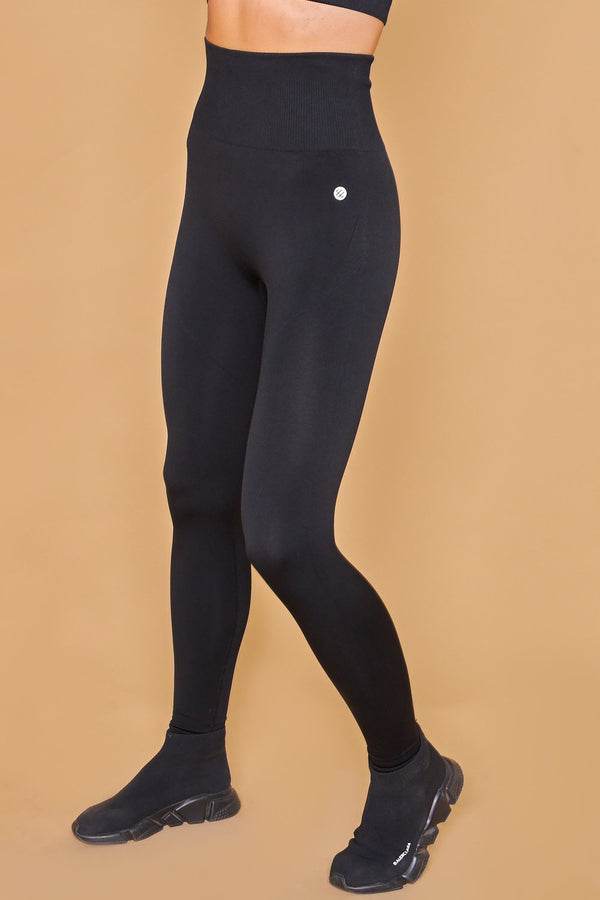 Sarvangasana Seamless Leggings Negro