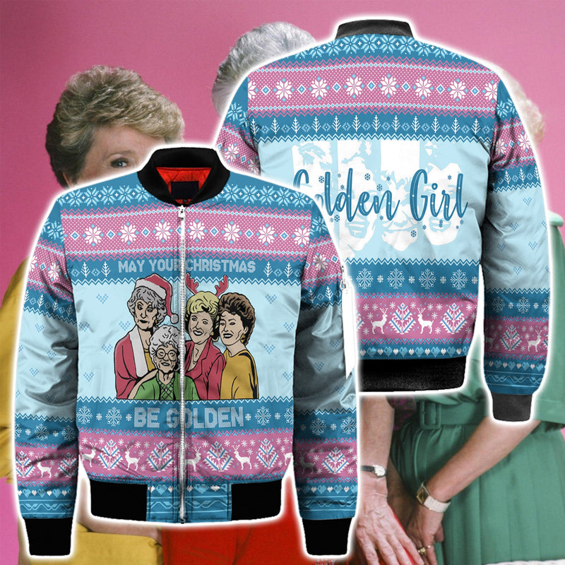 The Golden Girl Ugly Christmas Sweatshirt Hoodie All Over Printed DICT232