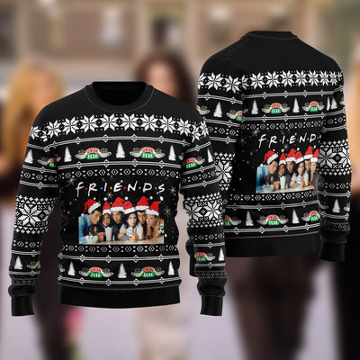 Friend TV Ugly Christmas Sweatshirt Hoodie All Over Printed DICT263