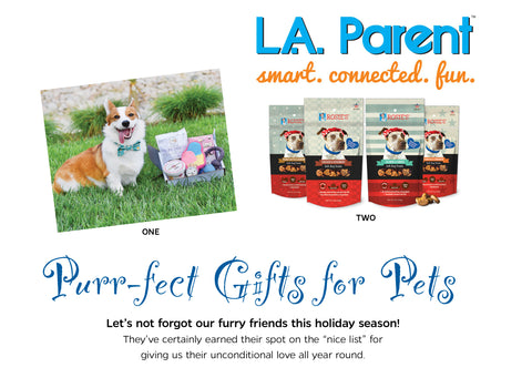 LA Parent Holiday Gift Guide for Pets