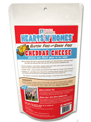 Hearts N' Homes™ Cheddar Cheese Gluten Free Dog Treats Back