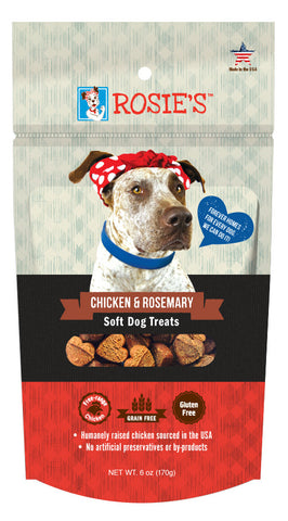 Rosie's™ Chicken and Rosemary Soft Dog Treats