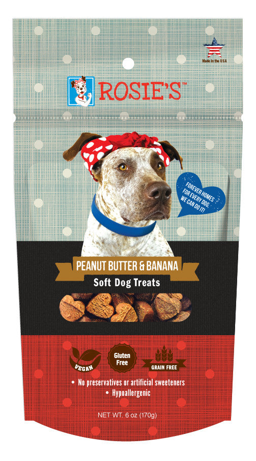 Rosie's™ Peanut Butter and Banana Soft Dog Treats