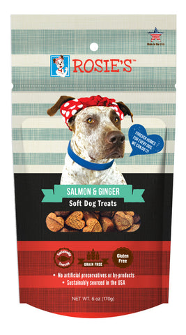 Rosie's™ Salmon and Ginger Soft Dog Treats