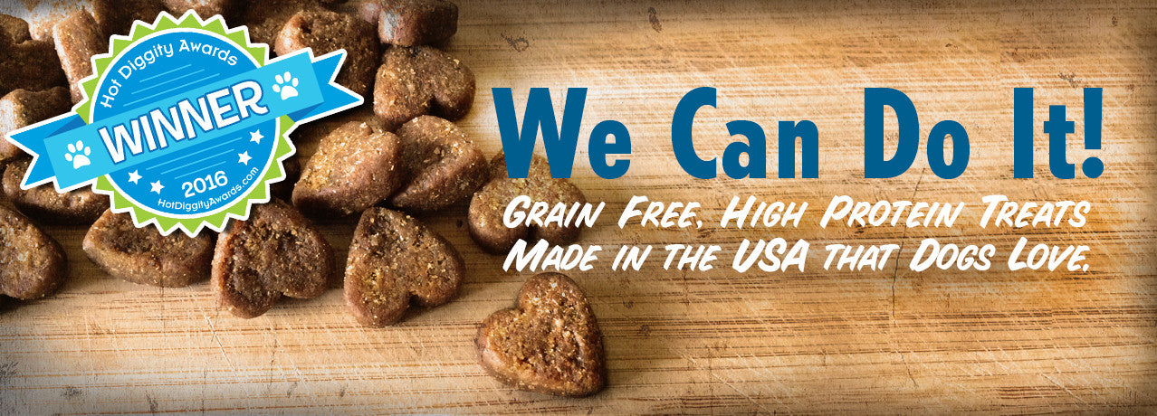 Grain Free, High Protein Treats Made in the USA