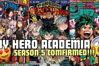 My Hero Academia Season 5: Release Date + Trailer