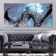 Demon King Baran Wall Art