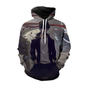 Solo Leveling Domain of the Monarch Jin-Woo Hoodie