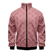 Demon Slayer Nezuko Clothes Pattern Bomber Jacket