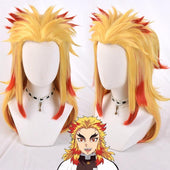 Demon Slayer Kyojuro Rengoku Wig