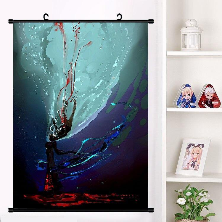 Baam Black March Tower of God Wall Scroll