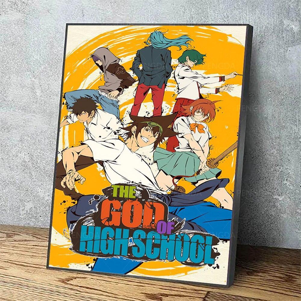The Six God of Highschool Poster