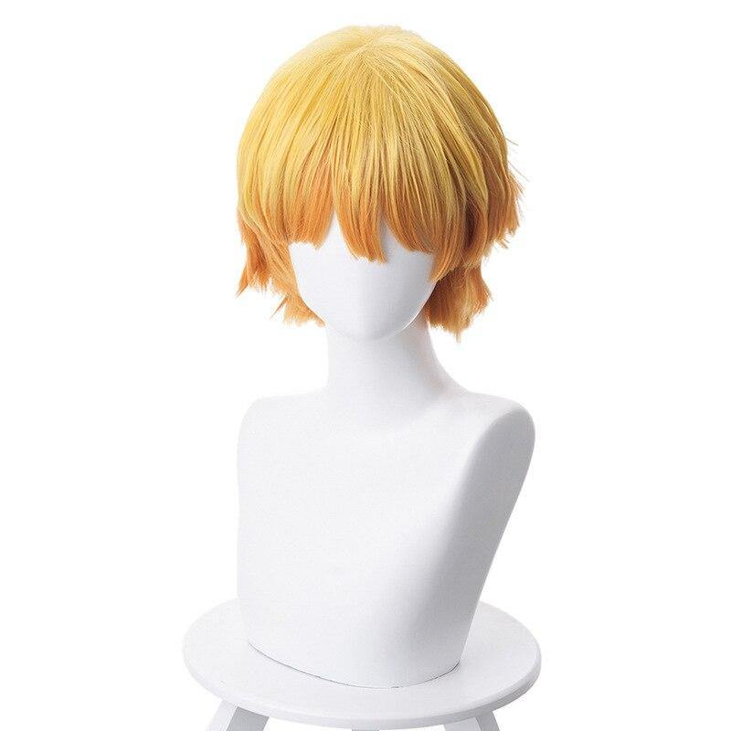 Demon Slayer Zenitsu Wig