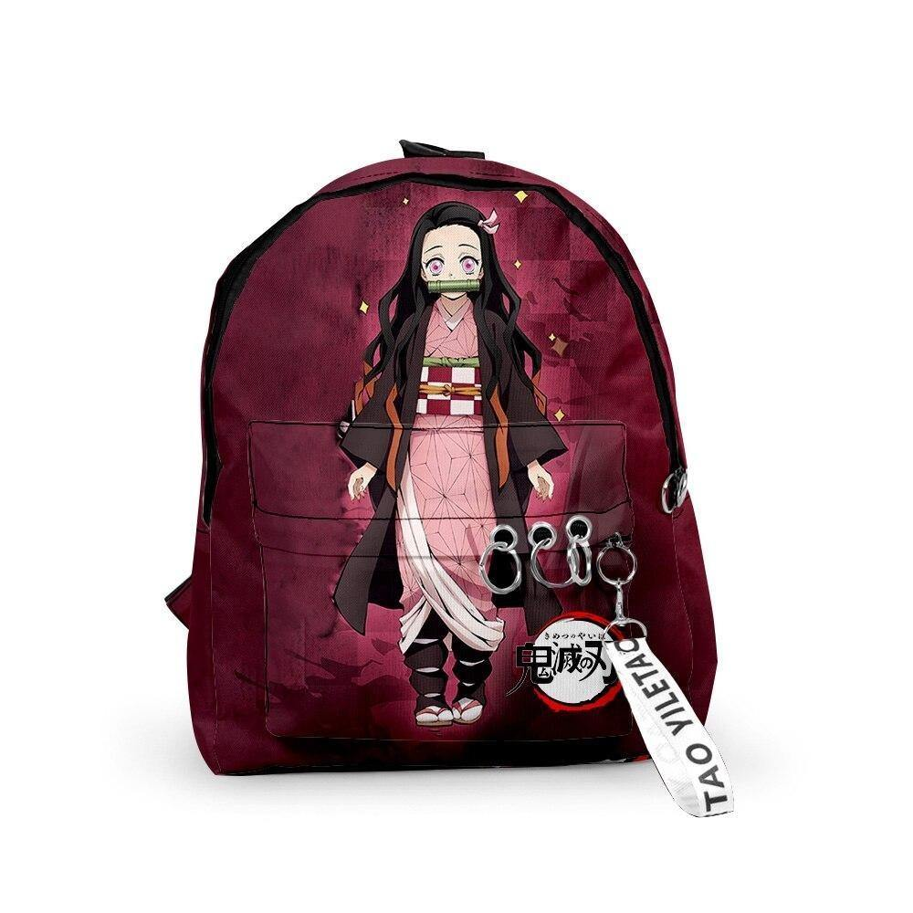 Demon Slayer Nezuko Dot Eyes Backpack