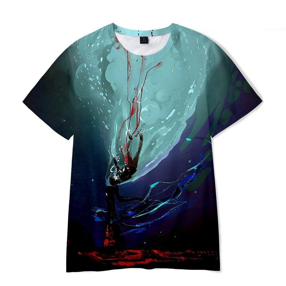 Tower of God Baam Black March T Shirt