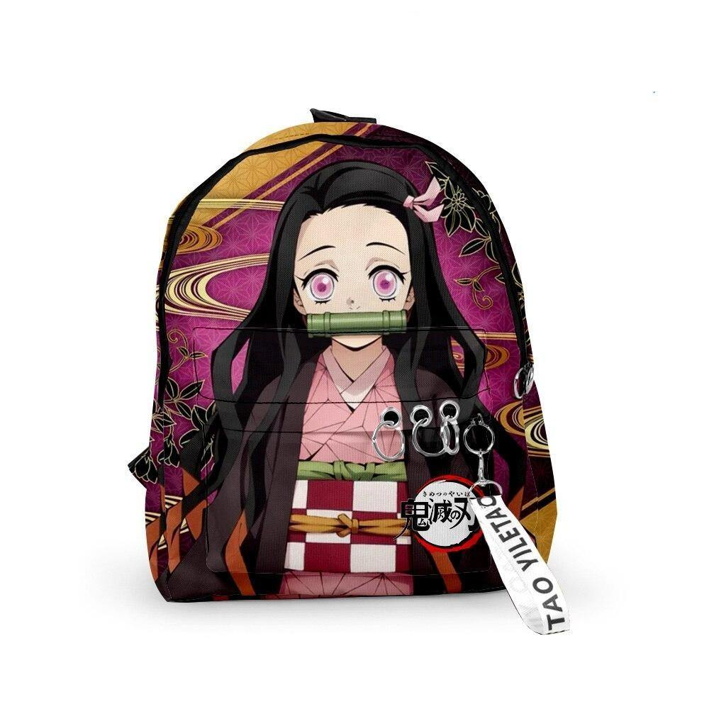 Demon Slayer Nezuko Bamboo Backpack