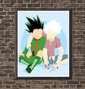 Hunter x Hunter Gon and Killua Poster