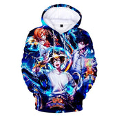 God of High School Metropolitan Team 3D Hoodie