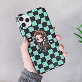 Demon Slayer Tanjiro Chibi iPhone Case