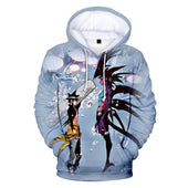 God of High School Jin Mori x Beelzebub Hoodie