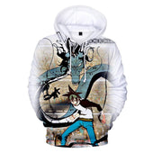 God of High School Mori Jin Anime Hoodie