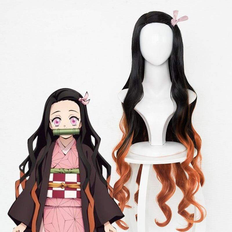 Demon Slayer Nezuko Kamado Wig - Manhwa Manga Merch