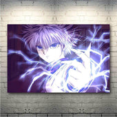 Hunter x Hunter Killua Zoldyck Lightning Poster