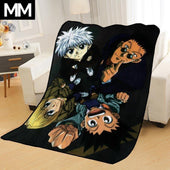 Hunter x Hunter Gon x Killua & Team Bedsheet