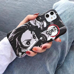 Tanjiro Sketch iPhone Case