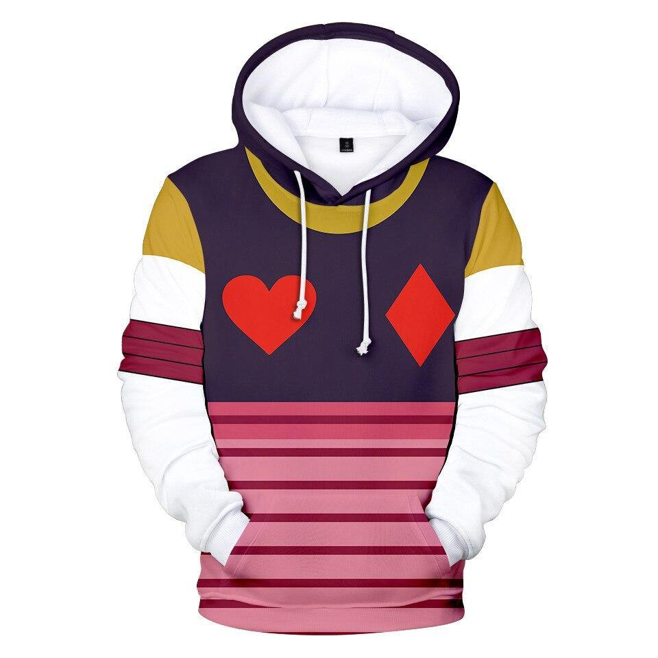 Hunter x Hunter Hisoka Card Manipulator Hoodie