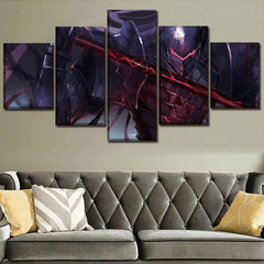 Berserk Guts Armor Aesthetic Wall Art