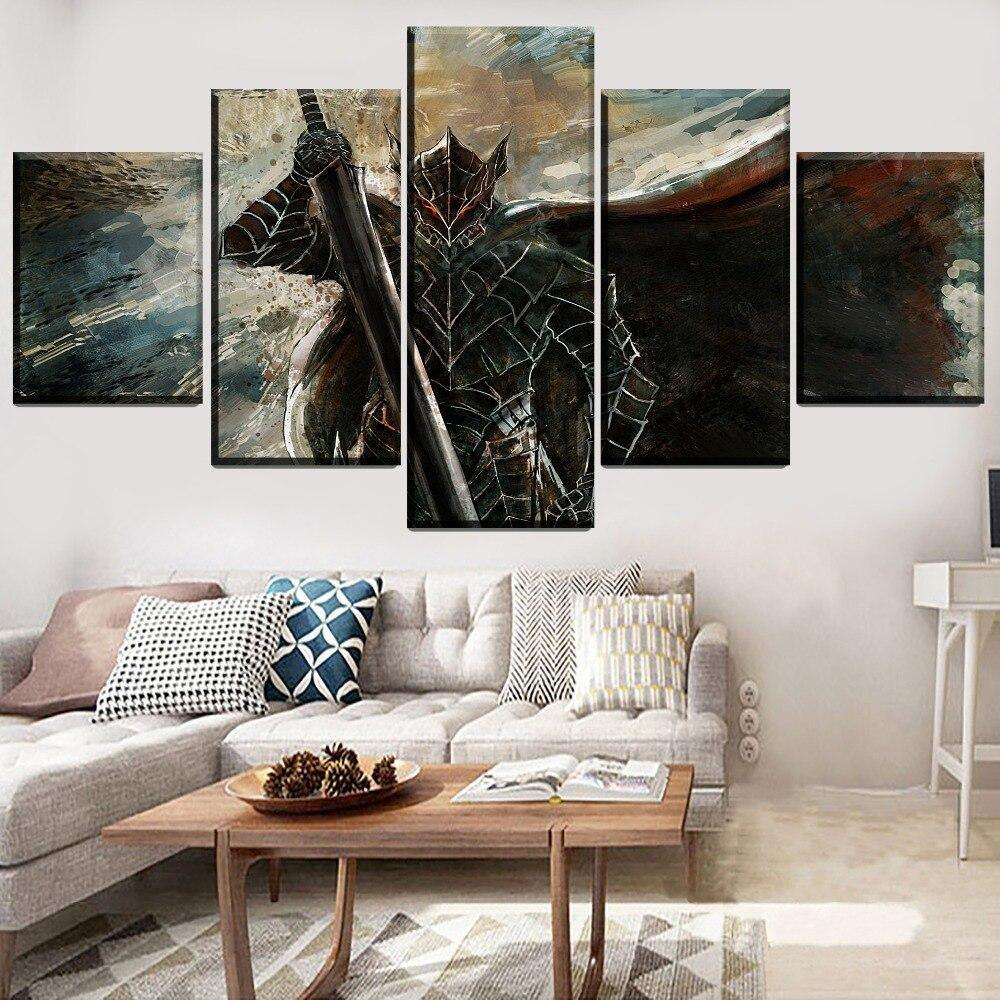 Guts Berserk Armor Wall Art
