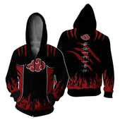 Naruto Shippuden All Akatsuki Members Jacket