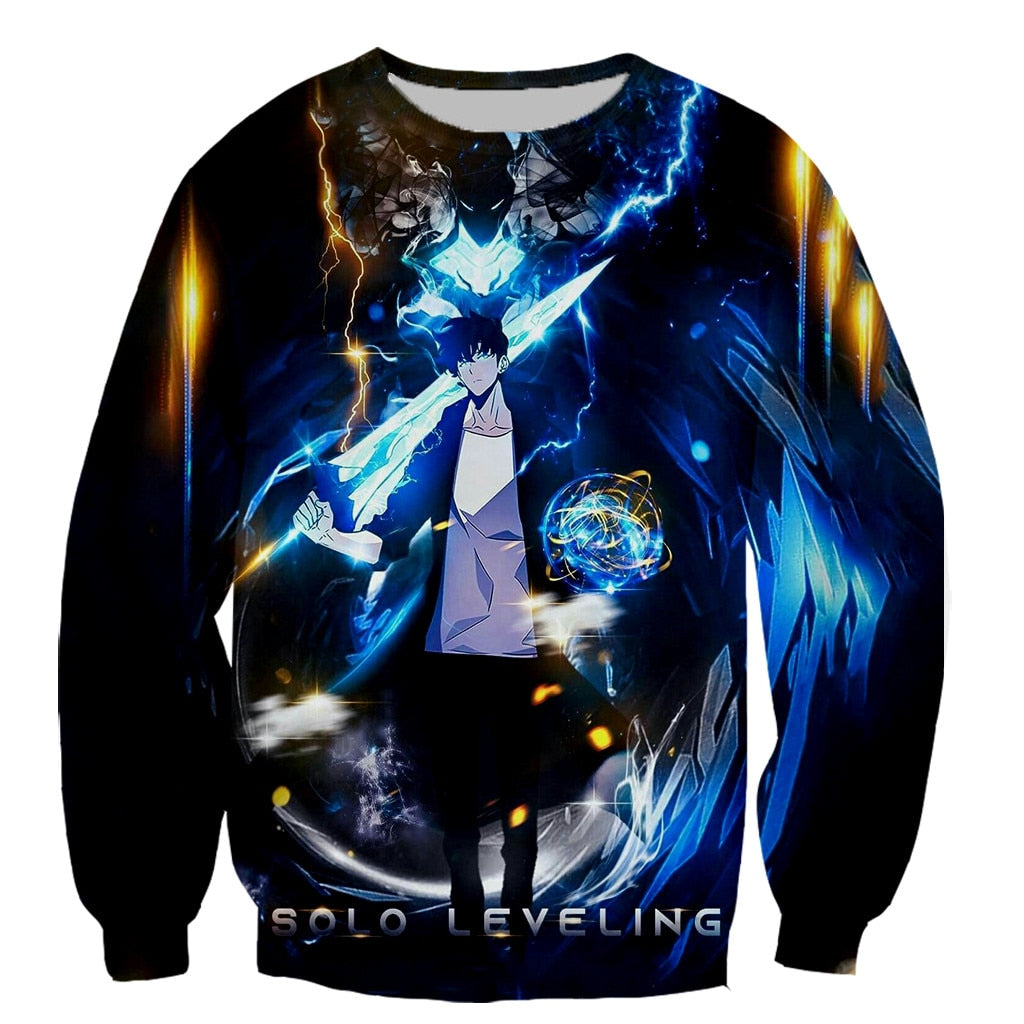 Solo Leveling Printed Sweater