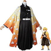 Demon Slayer Zenitsu Haori Pattern Cosplay