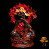 KNY Kyojuro Demon Slayer Hashira Statue