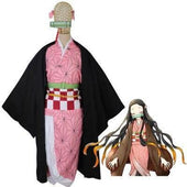 Demon Slayer Nezuko Pattern Cosplay