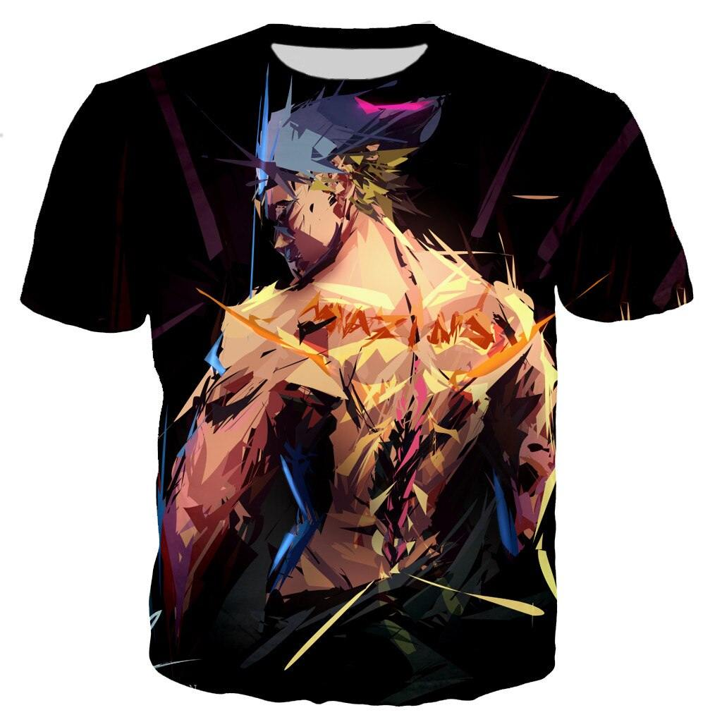 Tower of God Mazino 3D Aesthetic T Shirt