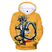 God of High School Jin Mo Ri Animated Hoodie