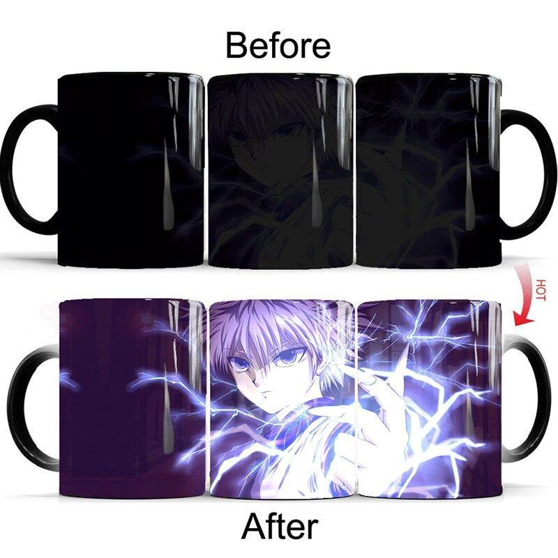 Hunter x Hunter Killua Transmutation Nen Mug
