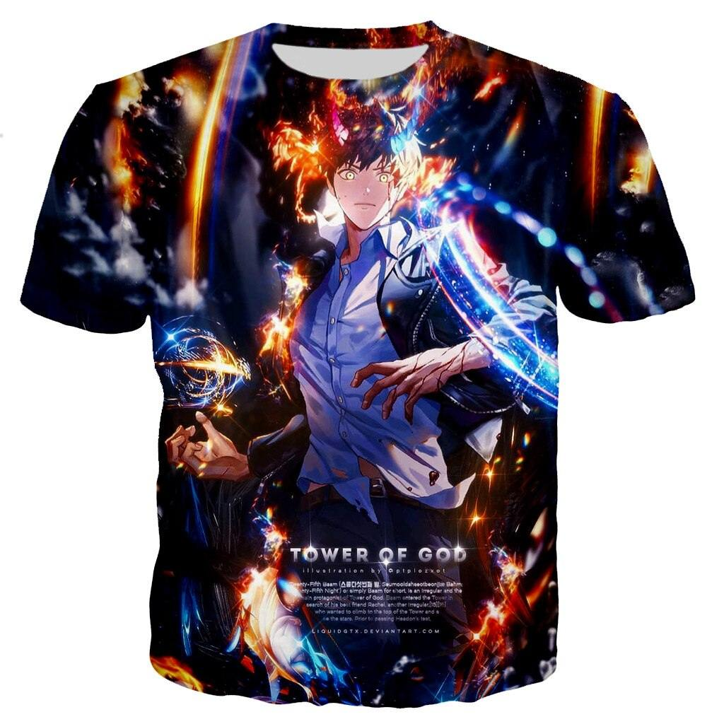Tower of God Baam Power Aesthetic T Shirt