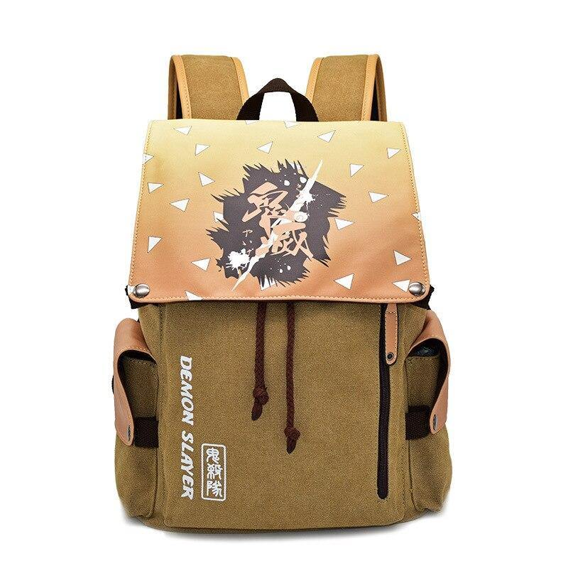 Demon Slayer Zenitsu Theme Backpack
