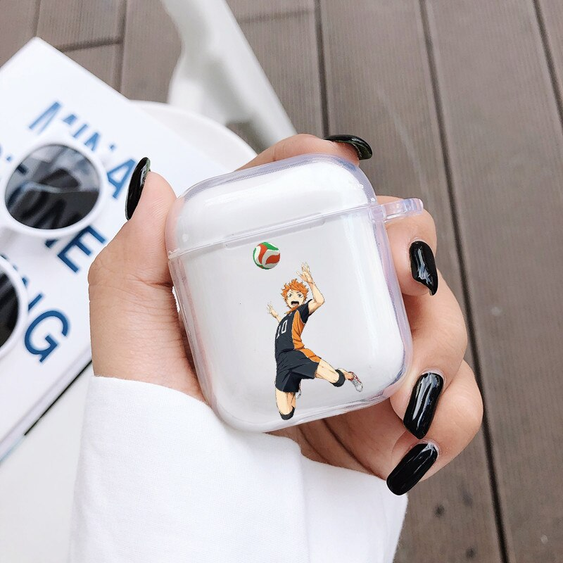 Haikyuu Hinata Power Spike Airpod Case