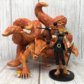 Naruto Uzumaki Six Paths Sage Mode and Kurama Figure