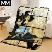 Gon Killua Kurapika Leorio Group Bedsheet
