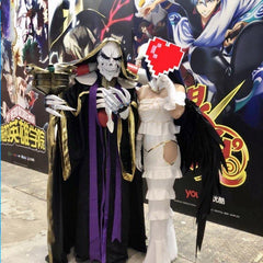 Overlord Albedo Wings and Horns Cosplay