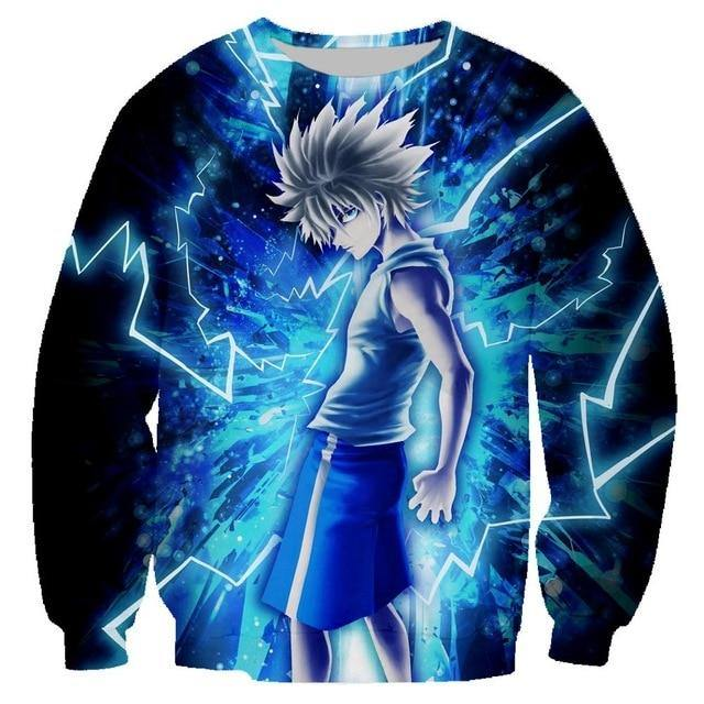 Hunter x Hunter Killua Anime Sweatshirt