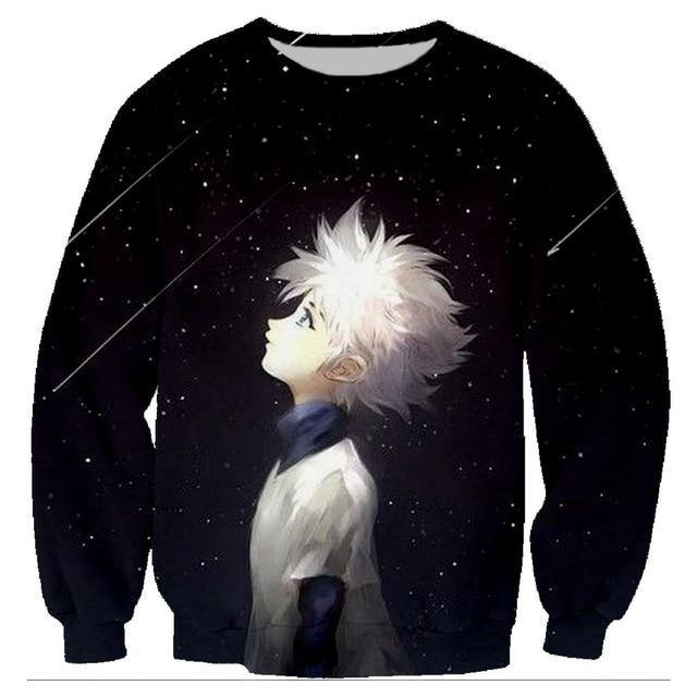 Hunter x Hunter Killua Render Sweatshirt