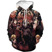 Overlord Ainz x Guardians of Nazarick Hoodie