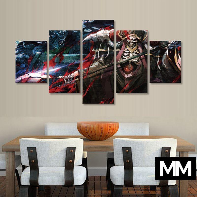 Ainz Necromancer Wall Art